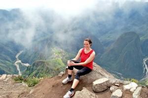 Anna Butterbrod in Machu Picchu