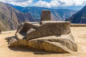 Intihuatana - Sonnenuhr in Machu Picchu - © vitmark - Fotolia.com