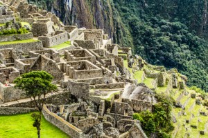 Machu Picchu - Sicht auf die Terrassen - © Mariusz Prusaczyk - Fotolia.com