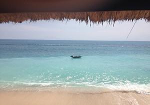 Bingin Beach - türkisblaues Meer und weißer Sandstrand
