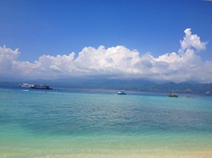 Gili Trawangan_View on Lombok